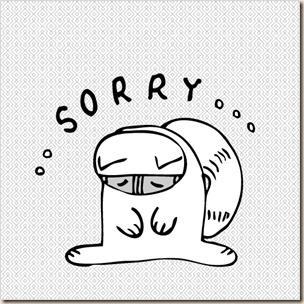 眼鏡貓-sorry